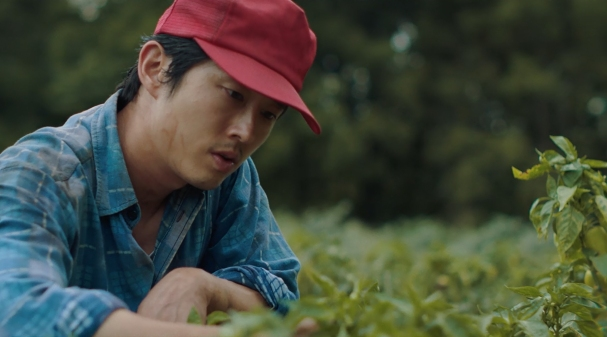 MINARI Steven Yeun Director Lee Isaac Chung Credit: Courtesy of A24